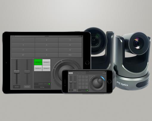 Software de control de cámaras PTZ Optics 1