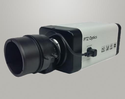 Cámara PTZ Optics con lentes intercambiables (SDI) 1
