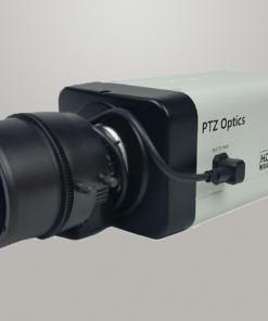 Cámara PTZOptics 4X con lentes intercambiables (NDI|HX y SDI)