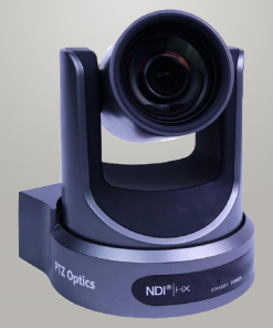 Cámara PTZ Optics 20X (NDI|HX, SDI y HDMI)